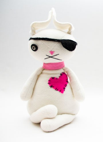 Pirate Bunny Plushie